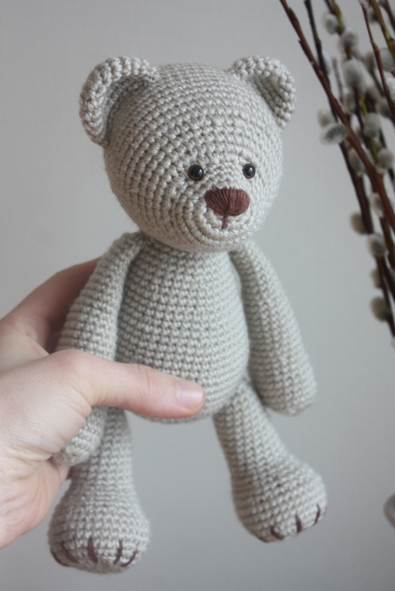 Amigurumi Valentine Teddy Bear Part Two : Teddy Bear Patterns submited images.