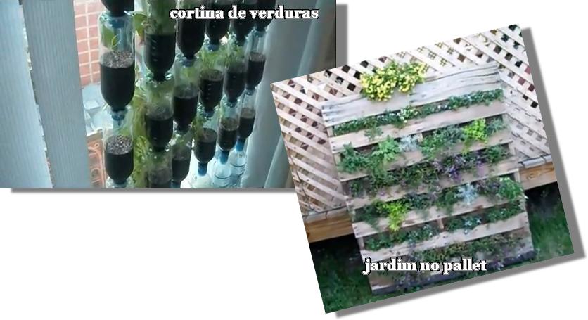 jardim ideias baratas: Decoração: Horta e jardim vertical: idéias baratas e reciclávies