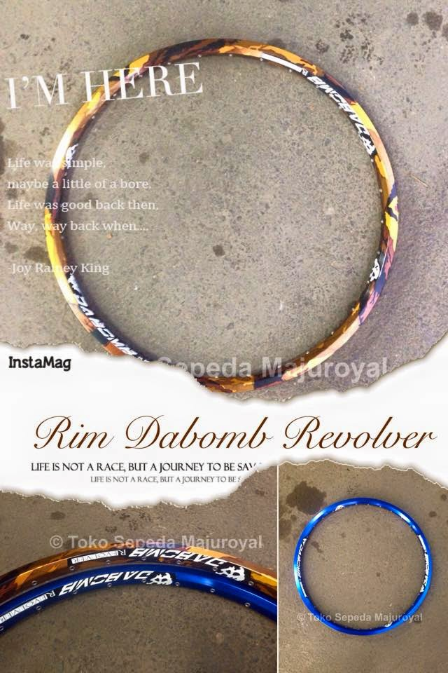Rim Dabomb Revolver Gold Camo and Blue