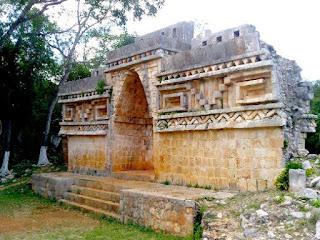 Arco Maya Labna Yucatan Mexico