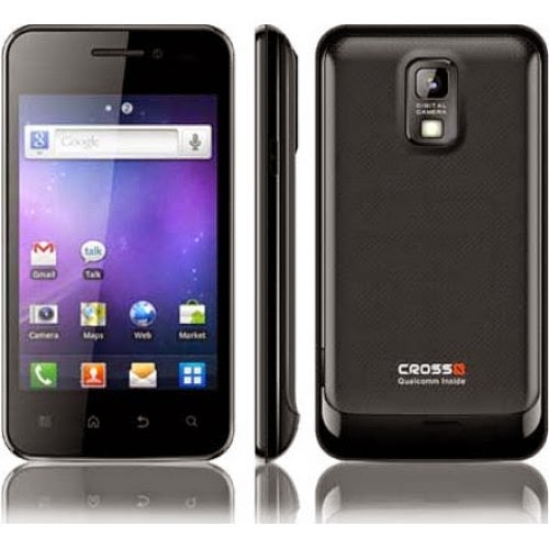 Handphone Android Evercoss Black
