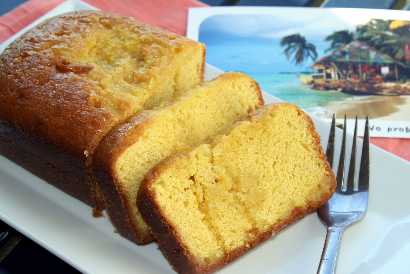 We tasted samples of rum cake while sight seeing in George Town and I ...