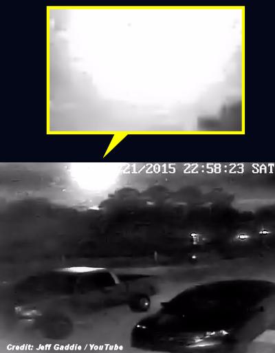 UFO Fireball Creates Sonic Boom Over Florida