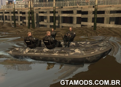 US Navy Seals Zodiac boat