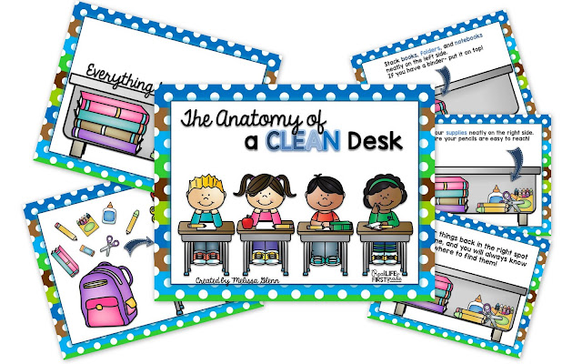 Anatomy of a Clean Desk