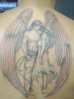 Tatuagens de anjos (Arcanjo, guerreiro e da morte)