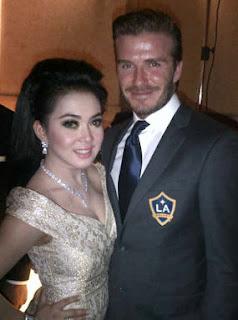 David Beckham dan Syahrini