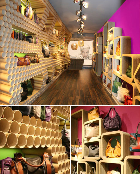 Recycling Crafts | Recycled Materials | Shop with Recycled |  Interior Shop with Recycled Materials | eco-store-design-ebarrito