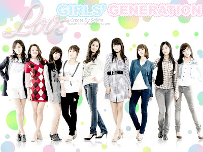 SoShi SNSD Girls Generation Wallpapers