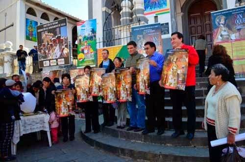 Presentan programa de la Fiesta de San Roque 2014