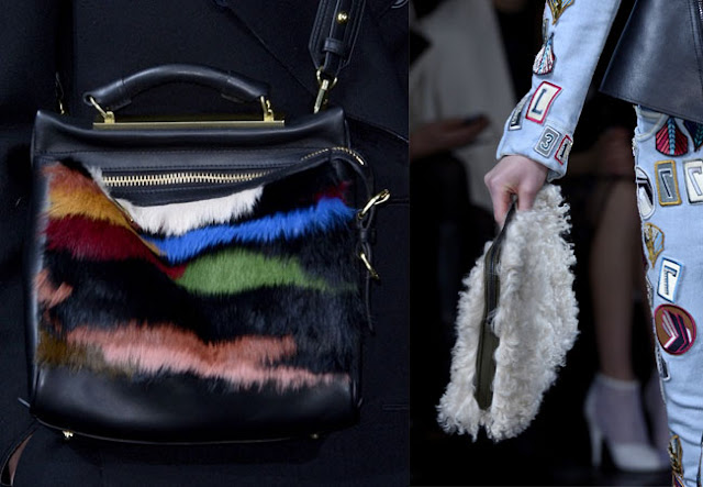 fur bag, patch jeans, phillip lim fall 2013, fashion week, new york fashion week, nyfw, diy inspiration