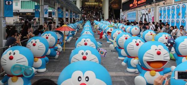 Doraemon Secret Gadgets Expo ke Surabaya