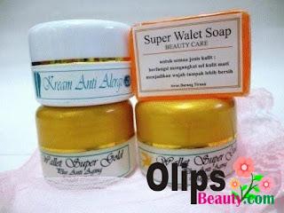 Cream Walet Super 100% Alami Penghilang Jerawat dan Bekas Jerawat