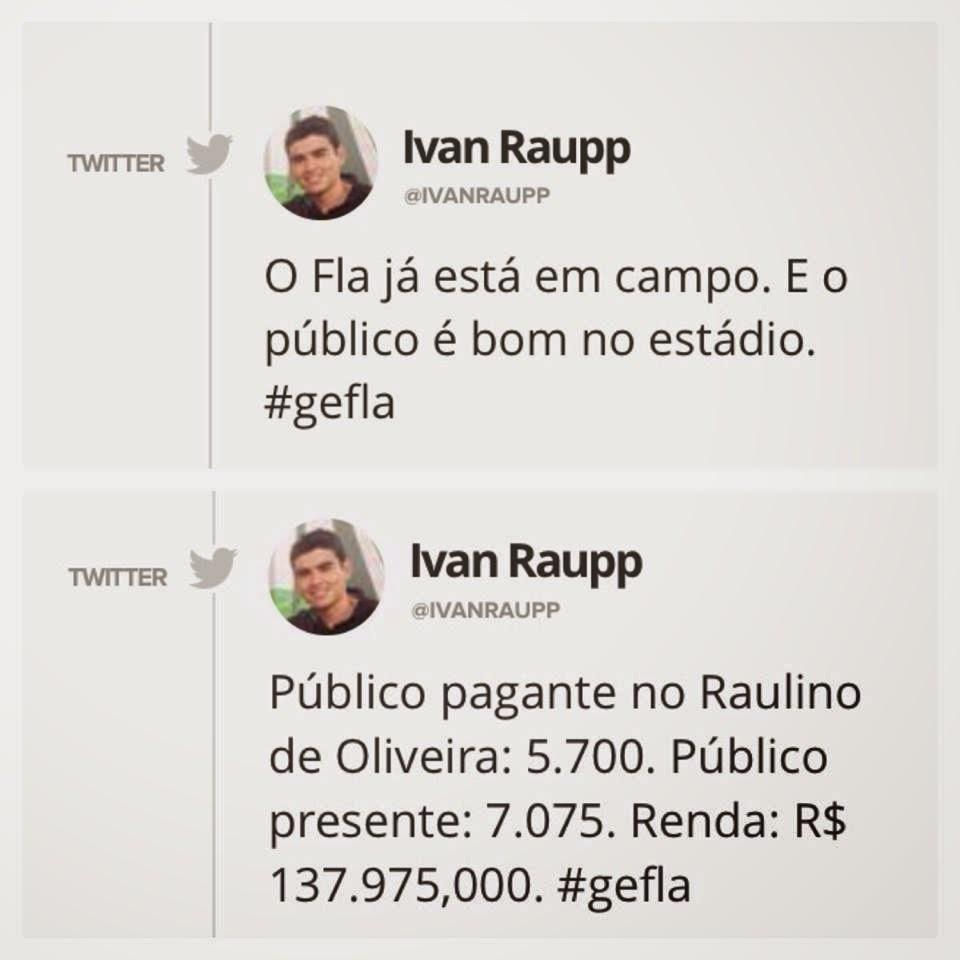 Como a Flapress analisa o público de um jogo do Botafogo e outro do Flamengo