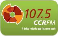 Rádio CCR FM 107,5 Via Dutra ao longo do trecho São Paulo - Rio da Cidade de Janeiro ao vivo