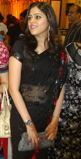 desi girl at party, pretty face, pretty smile, beautiful in black transparent saree