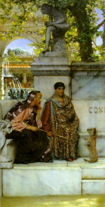 alma-tadema constantinople painting