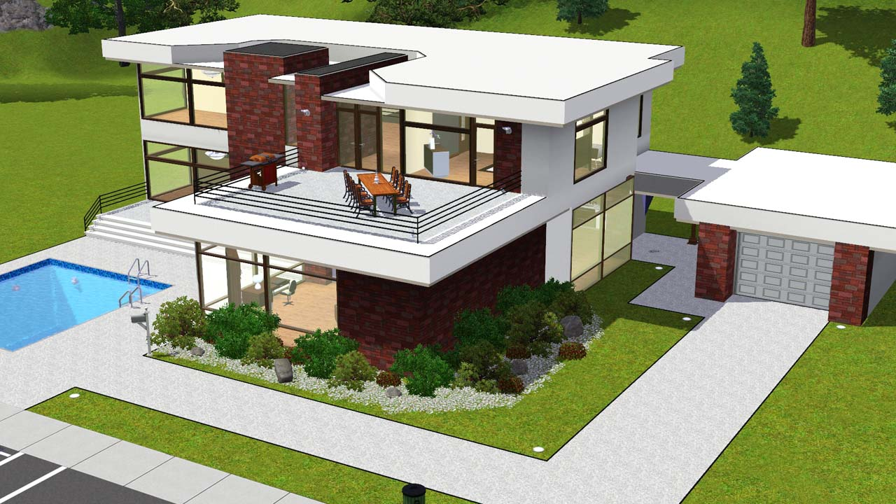 Sims 3 House Designs Step By Step