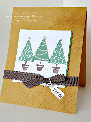 Stampin' Up! Pennant Parade Christmas Card