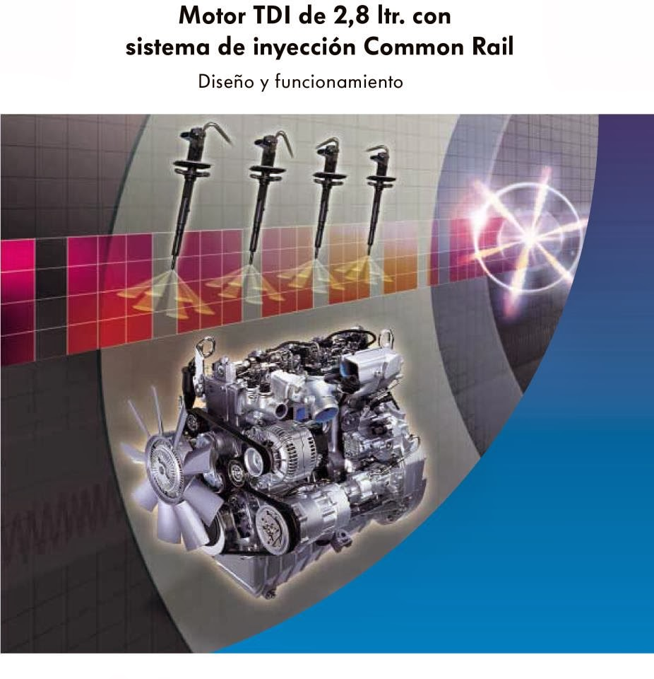 Manual Motor TDI de 2,8 ltr. con sistema de inyección Common Rail