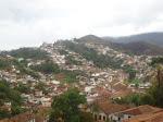Vista panorâmica de Ouro Preto, MG