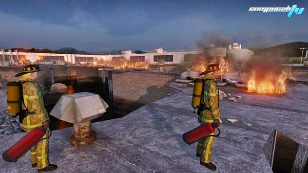Airport Firefighters The Simulation PC Full Español