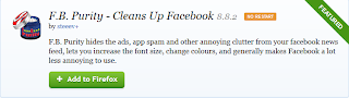 facebook purity addon
