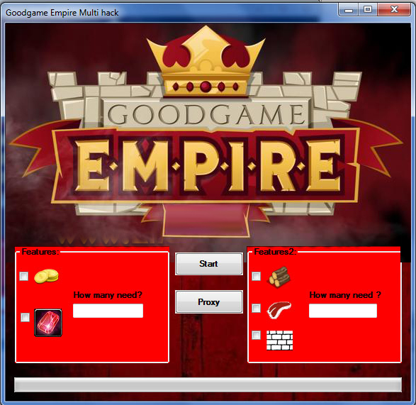 Goodgame Empire Hack Game