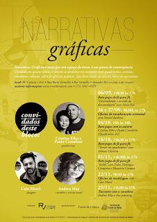 Narrativas Gráficas divulga programação do terceiro encontro com artistas