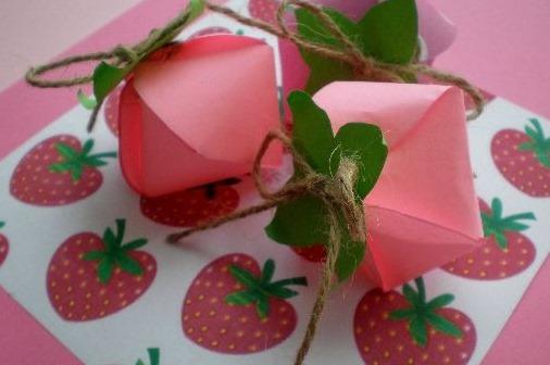 Como hacer envases de fresas - Como hacer zumo de fresa ...