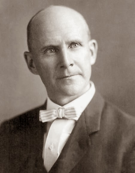 eugene v debs Eugene v debs was the first rail trade unionist to champion history debs went to  work on his first railroad job at 15 and although in later years his interests.