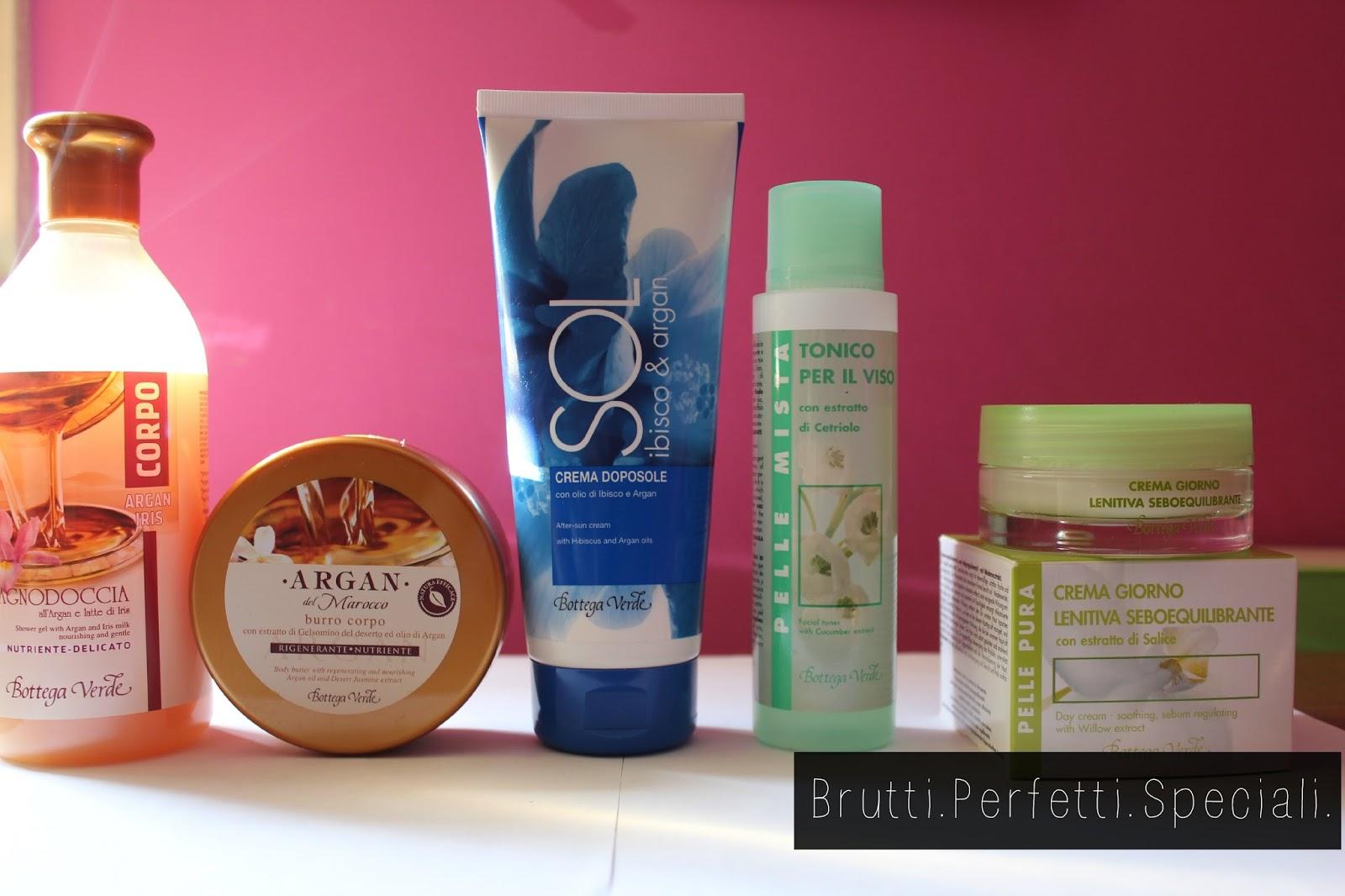 Bagno Doccia Bottega Verde : Haul e review bottega verde brutti perfetti speciali