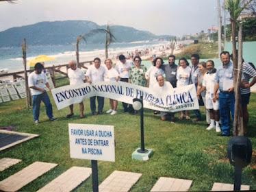 I Encontro Nacional de Filosofia Clínica. Praia dos Ingleses em Florianópolis (final dos anos 90)