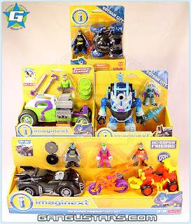 Target Imaginext Justice League Toys R Us Gotham City Kmart exclusive 2015 toy Batman Freeze DC Super Friends