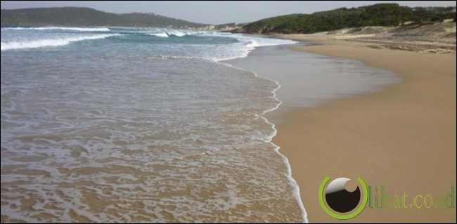 Pantai Samurai, Australia