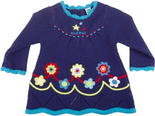 Tuc Tuc Girls Knitted Dress - Night Picnic