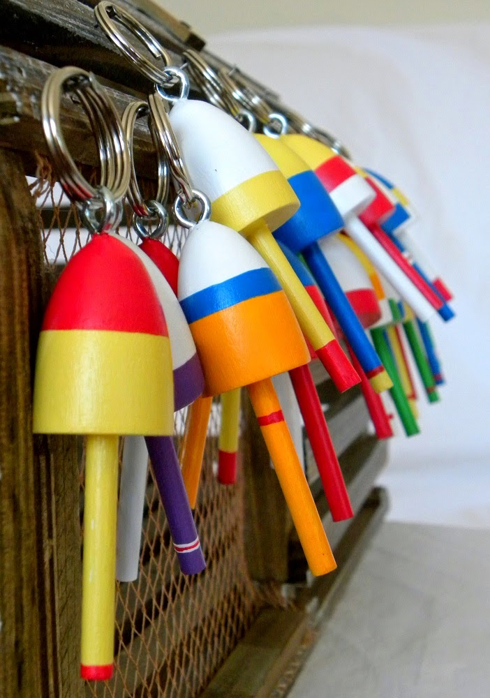 Lobster Buoy Key Chains