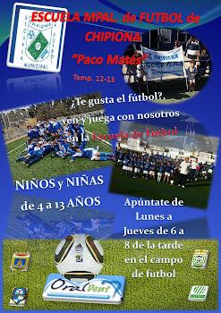 "Escuela de Fútbol ""PACO MATES"""