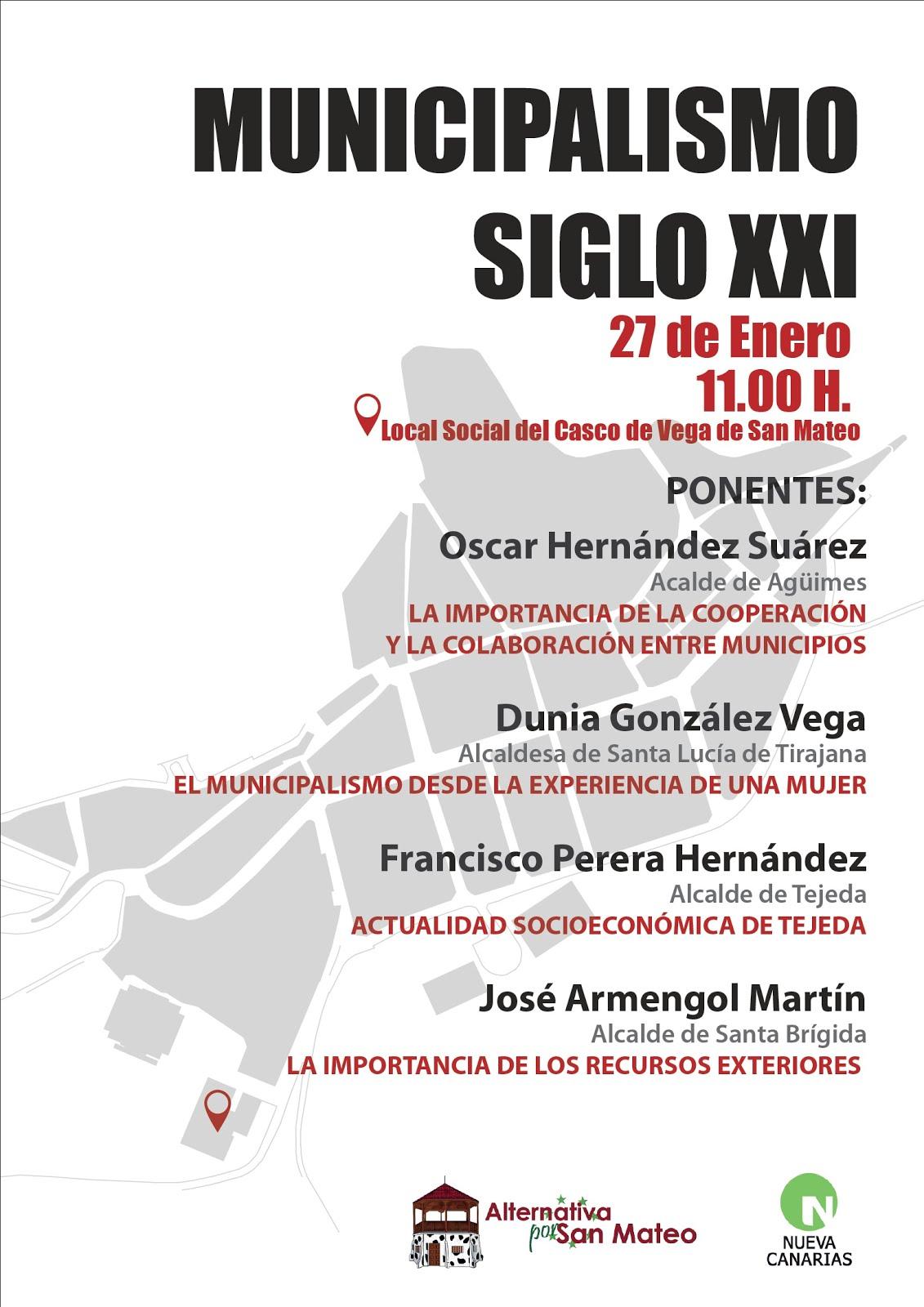 I JORNADAS MUNICIPALISMO SIGLO XX1