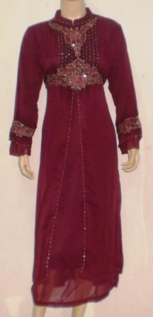 Gamis Pesta Murah Gp021 Grosir Baju Muslim Tanah Abang