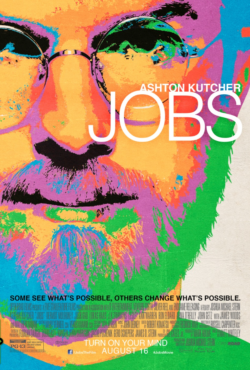 Jobs Poster Starring Ashton Kutcher
