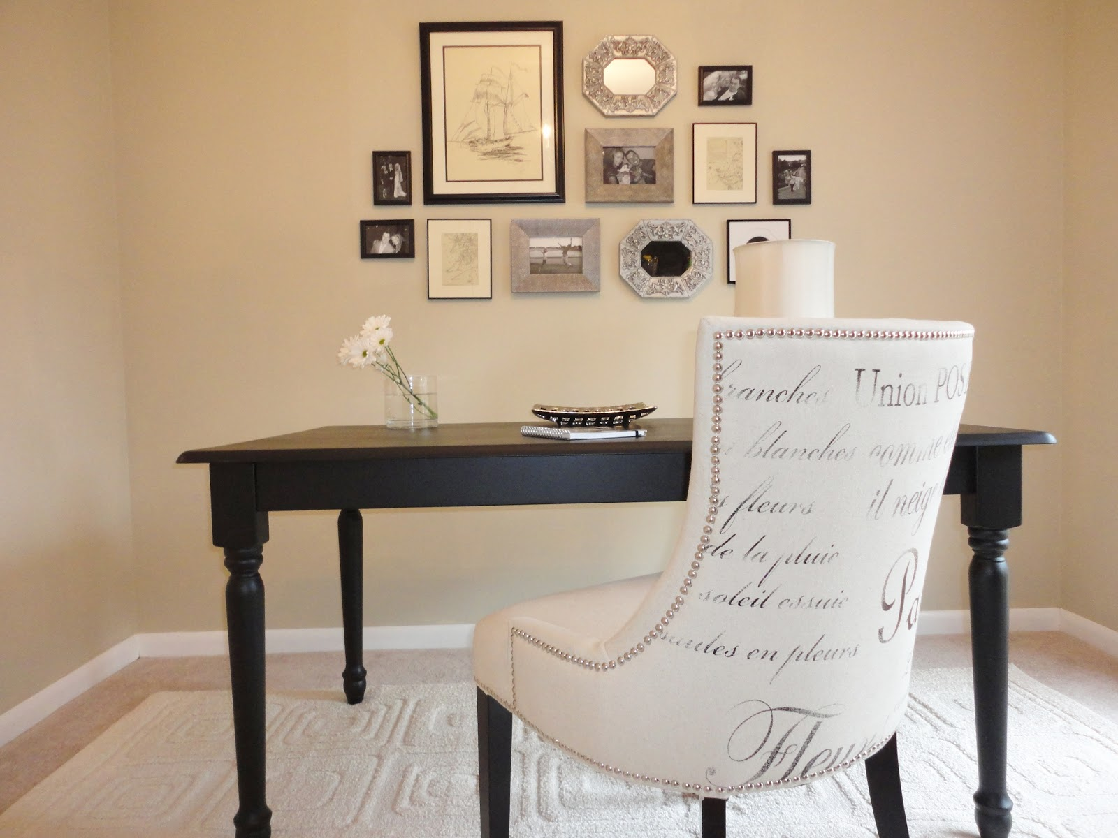 simple home office. Tons Of Great Ideas For Decorating Your Home Office On A Budget! Simple