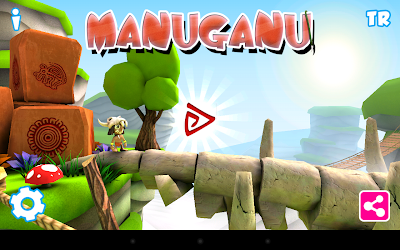 Manuganu: game start screen