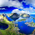 Lofoten Islands Amazing Panorama Norway HD Desktop Wallpaper