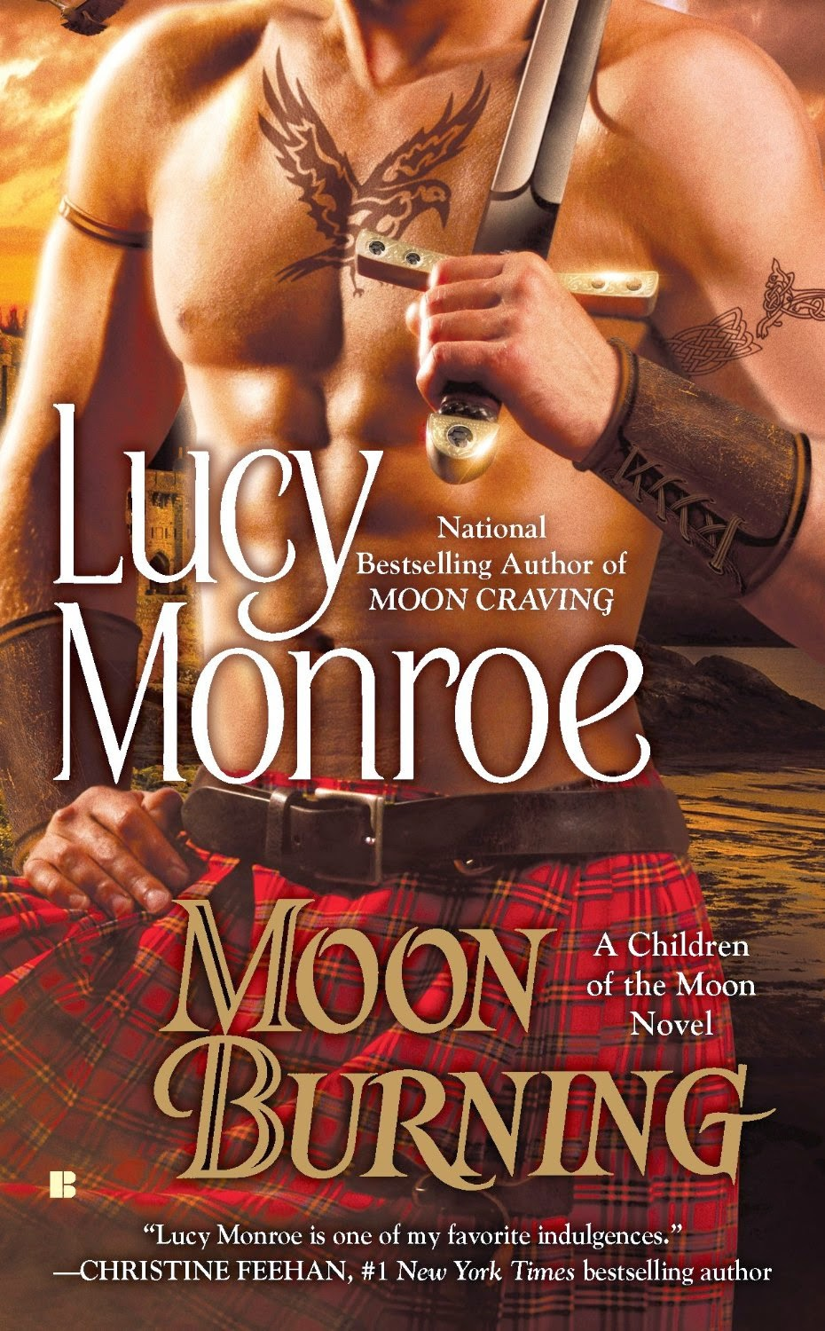 Moon Burning (A Children of the Moon Novel Book 3)