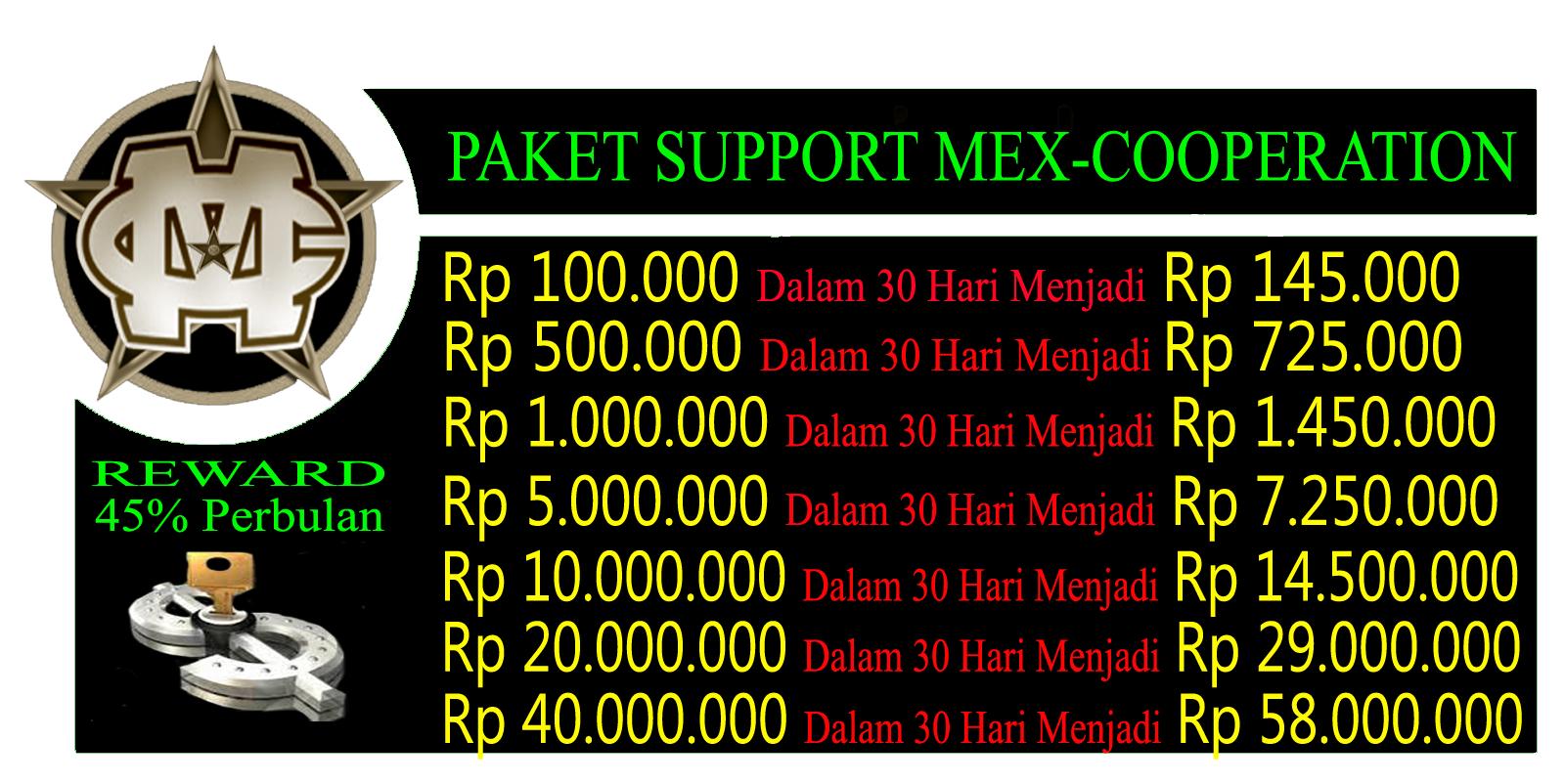 Mex Cooperation Bisnis Investasi Profit Tertinggi di Indonesia