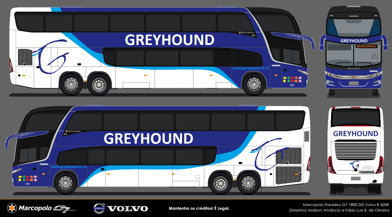 Greyhound bus bookings can be made between any of the cities in South Africa and many smaller towns. Greyhound also offers intercity bus trips to and from South Africa's neighbouring countries.