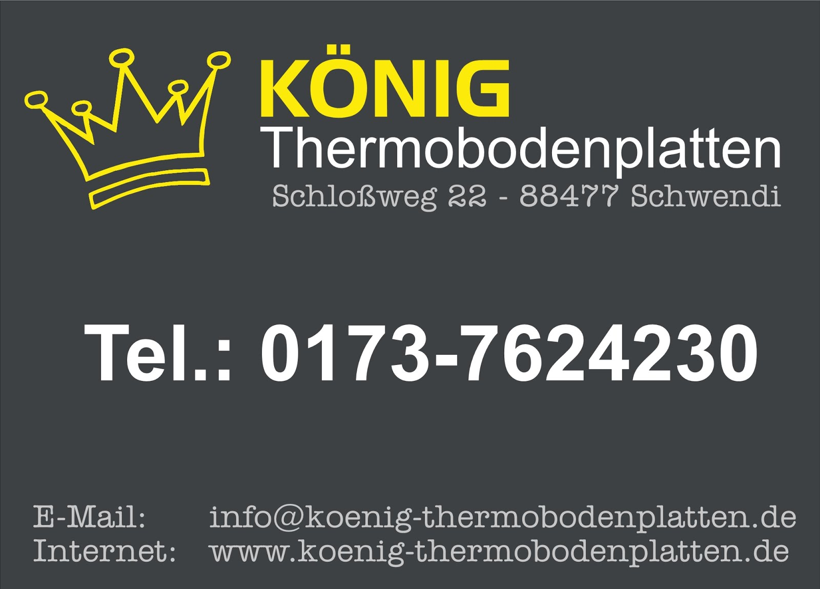 König - Thermobodenplatten