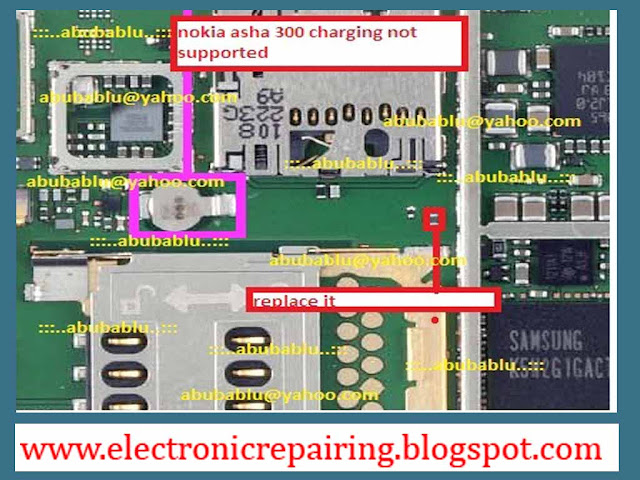 Nokia asha 300 not charging