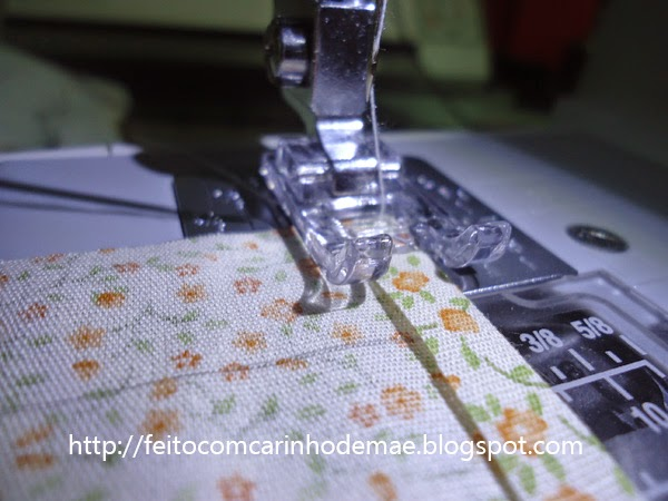passo a passo de cesta de pães em tecido